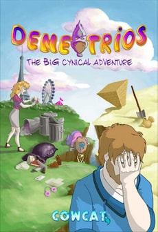 Demetrios - The BIG Cynical Adventure Steam Key GLOBAL