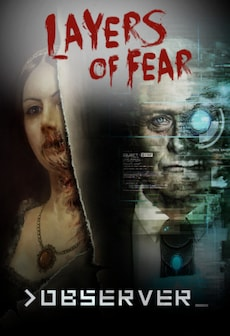 LAYERS OF FEAR + >OBSERVER_ BUNDLE Steam Key GLOBAL