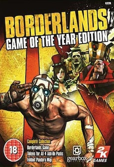 Image of Borderlands GOTY EDITION Steam Key GLOBAL