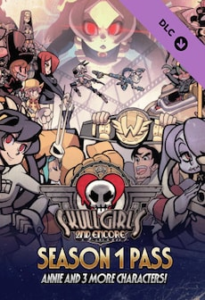 Skullgirls: Season 1 Pass (PC) - Steam Gift - GLOBAL