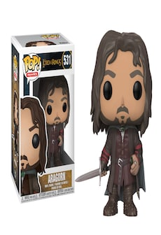 Image of Funko Pop! Vinyl: Filmy - The Lord of the Rings - Aragorn