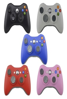 Image of Wireless Controller For Xbox 360 Gamepad Bluetooth Controller Joystick XBOX 360 White