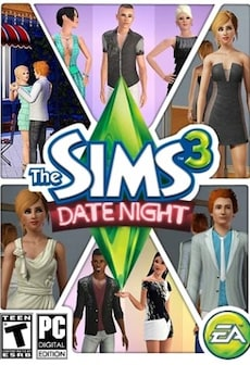 The Sims 3 Date Night DLC EA CD-KEY GLOBAL ( ENGLISH ONLY) PC