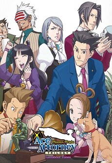 Phoenix Wright: Ace Attorney Trilogy - Turnabout Tunes Bundle (PC) - Steam Key - GLOBAL