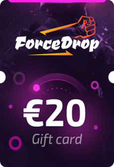 Forcedrop.gg Gift Card 20 EUR - Code GLOBAL