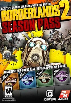 Borderlands 2 - Season Pass Steam Key GLOBAL