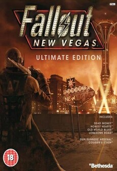 Fallout: New Vegas - Ultimate Edition Steam Key GLOBAL