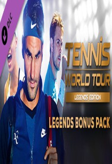Tennis World Tour - Legends Bonus Pack Steam Key GLOBAL