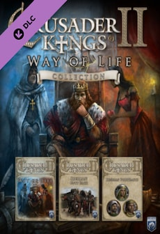 Image of Crusader Kings II - Way of Life Collection Steam Key GLOBAL