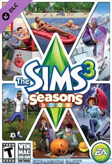 Image of The Sims 3: Seasons Origin Key GLOBAL