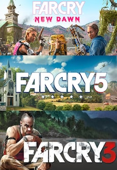 FAR CRY 5 GOLD EDITION + FAR CRY NEW DAWN DELUXE EDITION BUNDLE Steam Gift GLOBAL