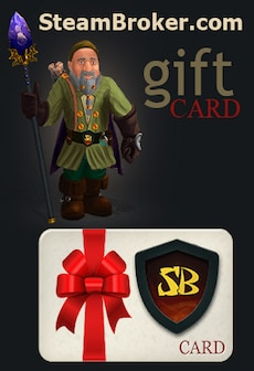SteamBroker.com Giftcard 10 USD GLOBAL