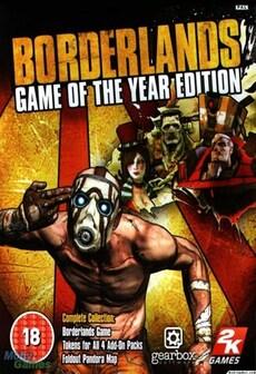 Borderlands GOTY EDITION 4-Pack Steam Key GLOBAL