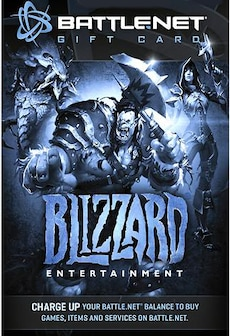 Image of Blizzard GiftCard 20 USD Battle.net NORTH AMERICA