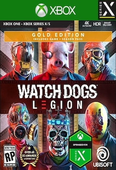 Watch Dogs: Legion | Gold Edition (Xbox Series X) - Xbox Live Key - GLOBAL