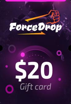 Forcedrop.gg Gift Card 20 USD - Code GLOBAL