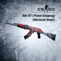 Buy AK-47 | Point Disarray (Minimal Wear) Steam Item