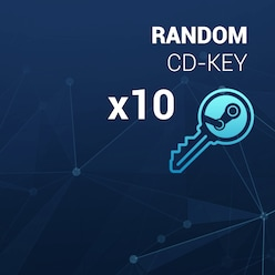 Buy Random Steam Key GLOBAL 10 Keys