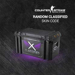 Buy Counter-Strike: Global Offensive RANDOM CLASSIFIED SKIN CODE by SKINODDS.COM