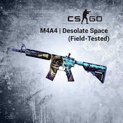 Buy M4A4 | Desolate Space (Field-Tested)