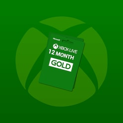 Buy Xbox Live 12 Months GOLD Subscription Card GLOBAL