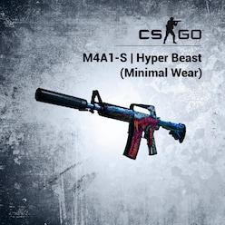 Buy M4A1-S | Hyper Beast (Minimal Wear) Steam Item