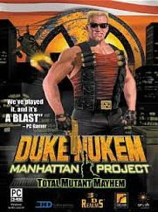 Duke Nukem Manhattan Project Steam Key GLOBAL
