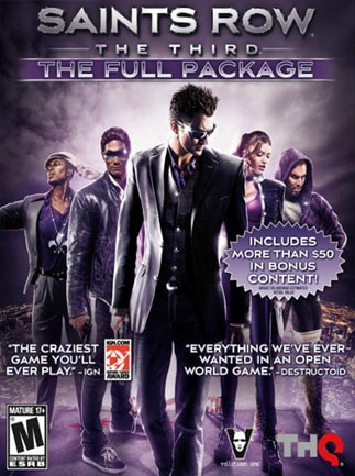Saints Row: The Third - Full Package Steam Key GLOBAL
