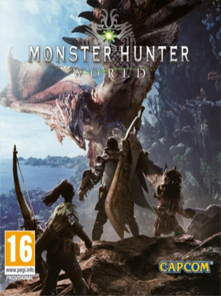 Monster Hunter World Digital Deluxe Edition Steam Key GLOBAL