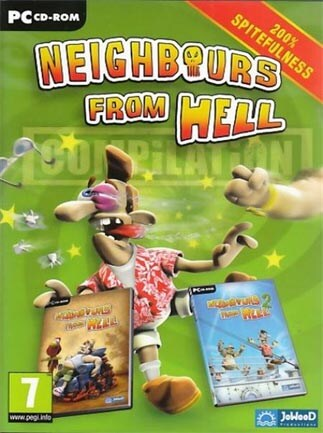 Neighbours from Hell Compilation Steam Key GLOBAL