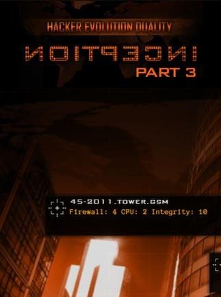 Hacker Evolution Duality: Inception 3 Key Steam GLOBAL