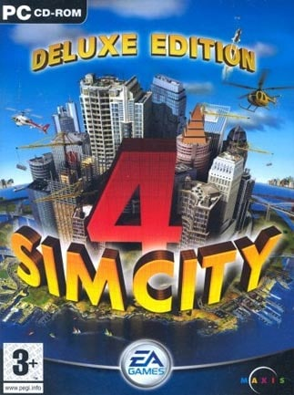 SimCity 4 Deluxe Edition Steam Key GLOBAL