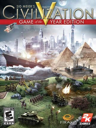Sid Meier's Civilization V Game of the Year Edition Steam Key GLOBAL
