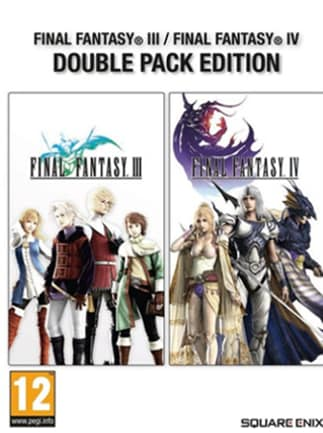 Final Fantasy III & Final Fantasy IV Double Pack Steam Key GLOBAL