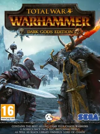 Total War Warhammer Dark Gods Edition Steam Key GLOBAL
