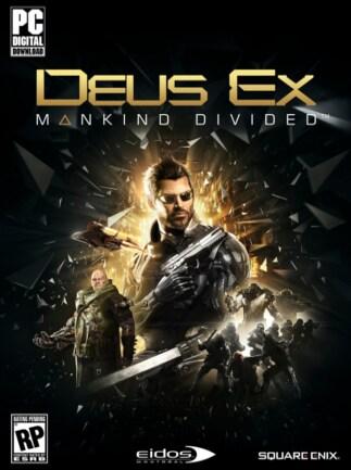 Deus Ex: Mankind Divided Day 1 Edition Steam Key GLOBAL