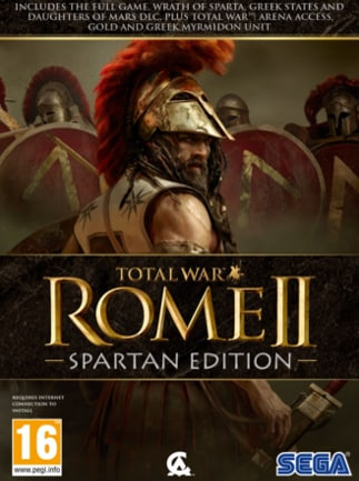 Total War: ROME II - Spartan Edition Steam Key GLOBAL