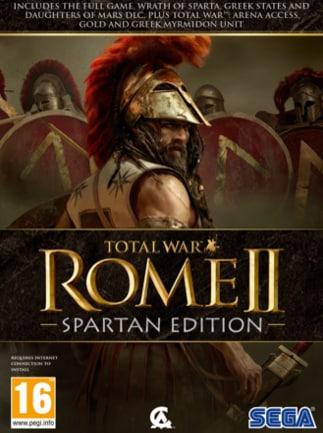 Total War: ROME II - Spartan Edition Steam Key GLOBAL