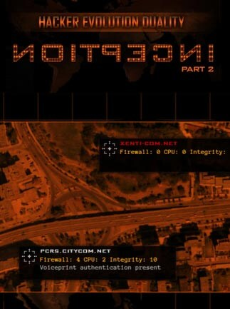 Hacker Evolution Duality: Inception 2 Key Steam GLOBAL