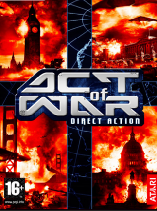Act of War: Direct Action Steam Key GLOBAL