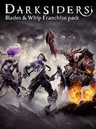 Darksiders Blades & Whip Franchise Pack Steam Key GLOBAL
