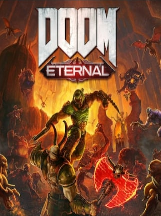 DOOM Eternal Deluxe Edition Steam Key GLOBAL