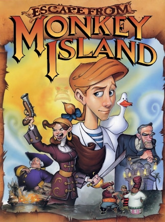 Escape from Monkey Island (PC) - Steam Key - GLOBAL
