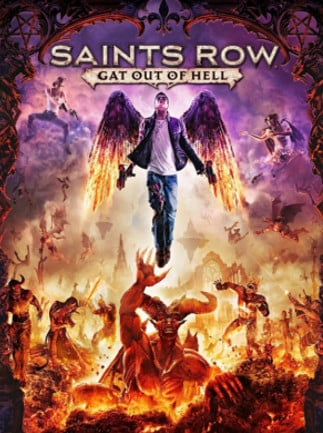 Saints Row: Gat out of Hell + Devil's Workshop Pack Steam Key GLOBAL