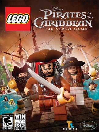 LEGO Pirates of the Caribbean Steam Key GLOBAL