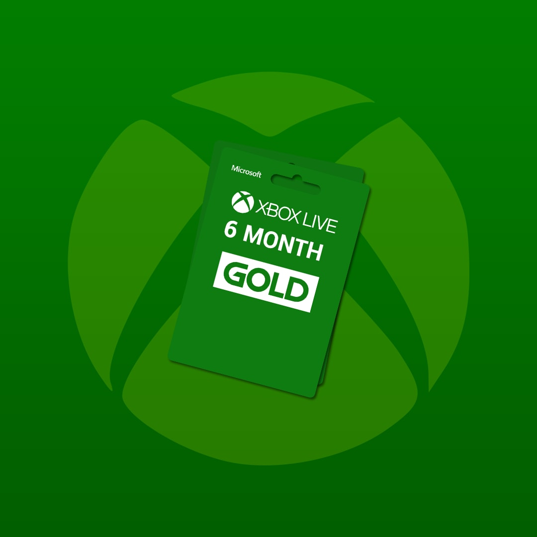 Xbox Live GOLD Subscription Card 6 Months - Key GLOBAL