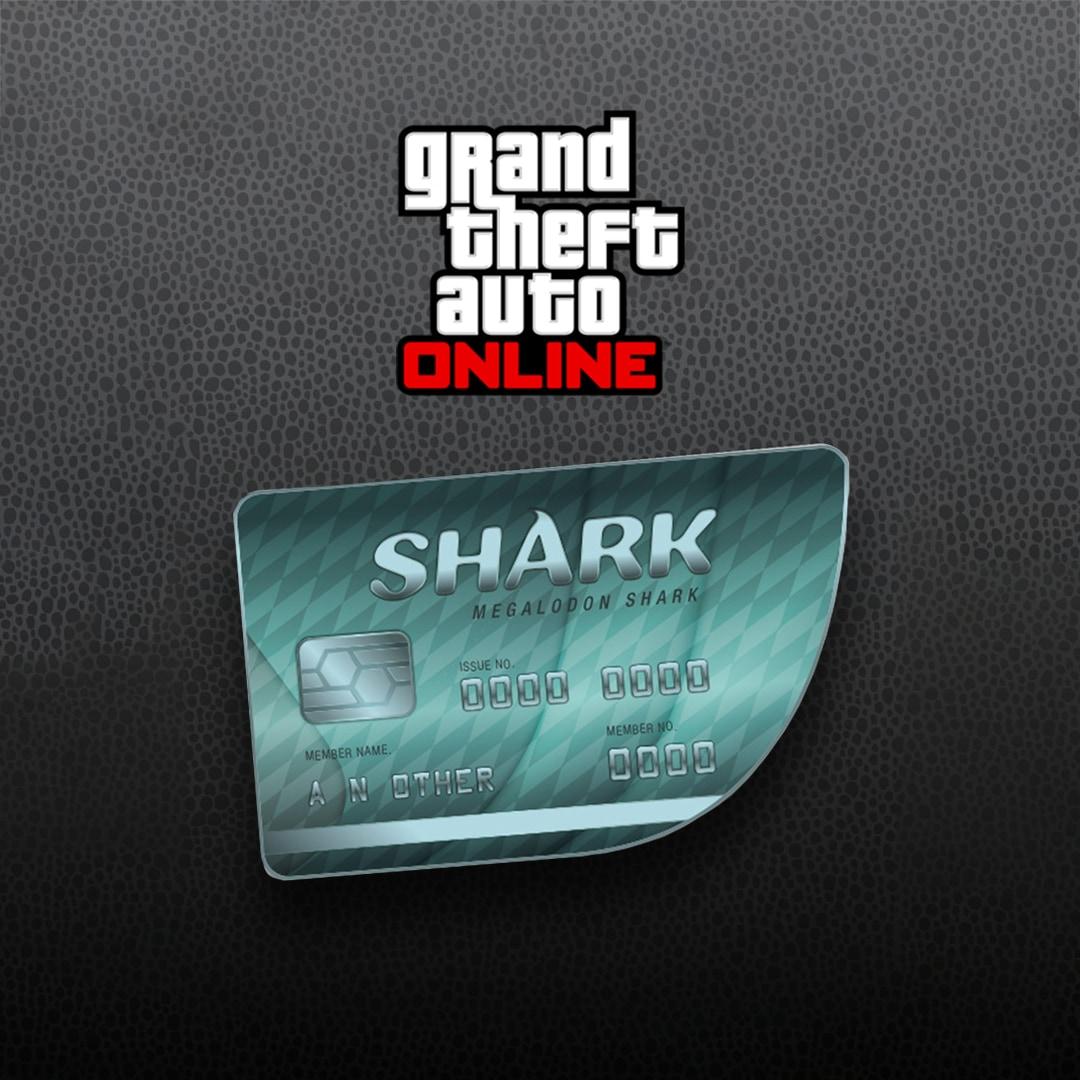 Grand Theft Auto Online: Megalodon Shark Cash Card 8 000 000 Rockstar Key  GLOBAL PC