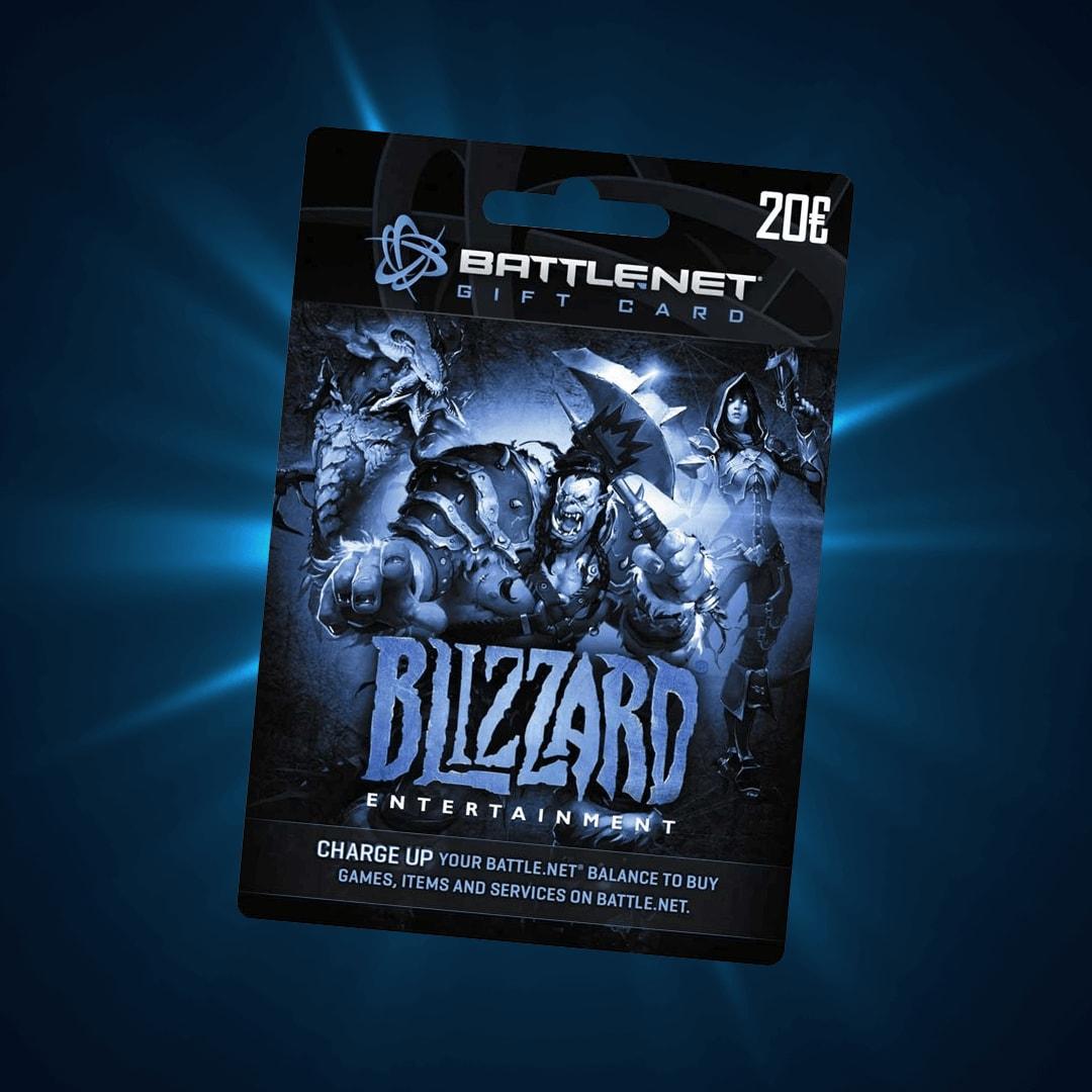 Blizzard Giftcard 20 Eur Battlenet Europe G2acom