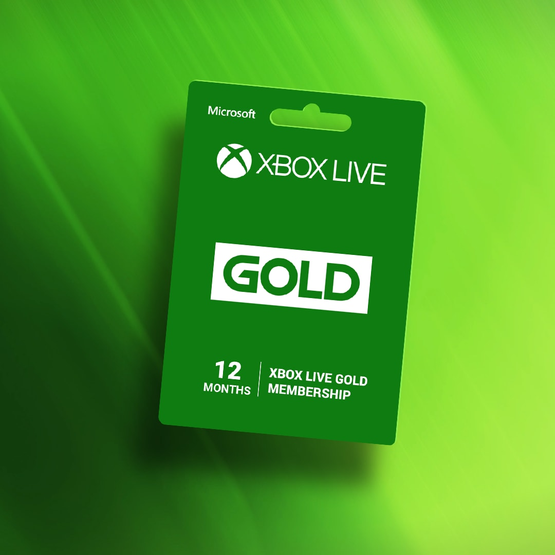 Xbox Live GOLD Subscription Card 12 Months Xbox Live GLOBAL