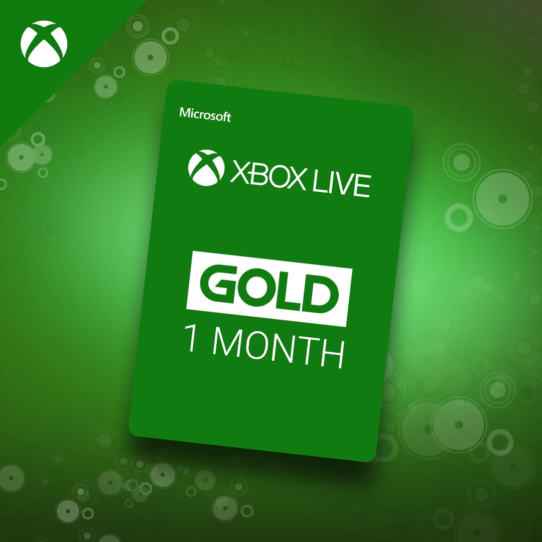 Xbox Live Gold 1 Month Card - Buy cheaper on G2A.COM